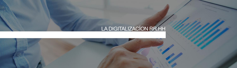 La digitalizacíon del departamento de recursos humanos