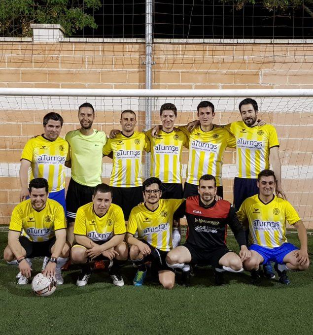 Doblete - Campeones de la Liga intrahospitalaria del HGUCR y Copa 2018