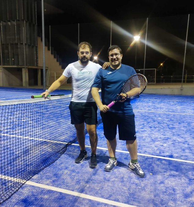 Nuestros aTurneros Pablo y Alberto: Profesionales del tenis